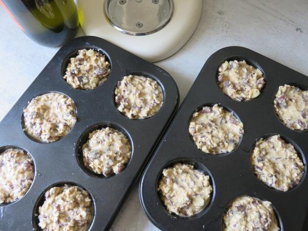 muesli-muffinteig