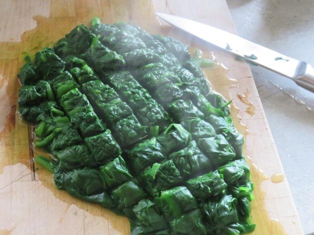 Spinat zubereiten