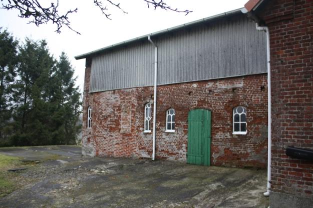 Der alte Resthof vor der Sanierung