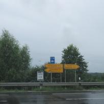Rechts gehts nach Wacken, links in die Idylle