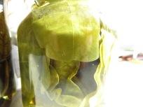 Kapuzinerkresse in Kartoffelschnaps