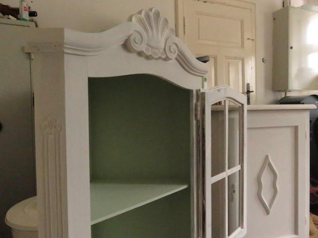 Aufgemöbeltes Stilmöbel für die Küche