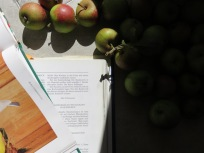 Äpfel & Rezeptbücher überall