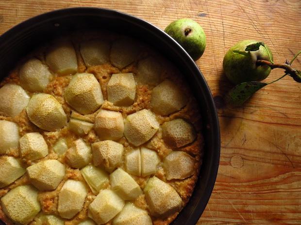 Birnen-Haferkuchen mit Anis