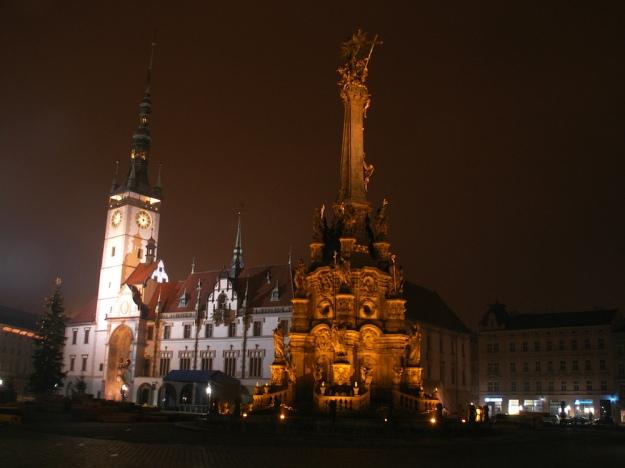 Olomouc bei Nacht