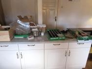 Küchenchaos zur Aussaatzeit