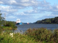 Hier am Nord-Ostsee-Kanal