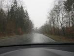 Mal wieder Regen aus dem Weg durch den Sachsenwald
