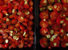 gebackene Tomatensauce