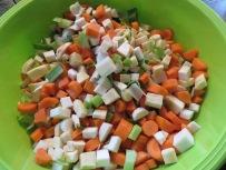 Frisches Gemüse nach Wahl
