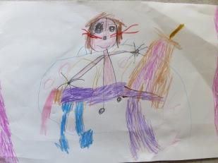 Kunst der Tochter