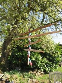 Windspiel aufhängen