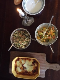 Mediterrane Gerichte aus eigener Ernte
