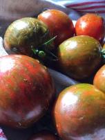 Getigerte Tomaten